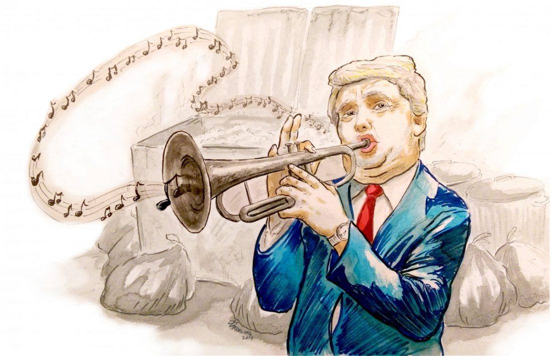 Humor & Satire : Donald Trumpet